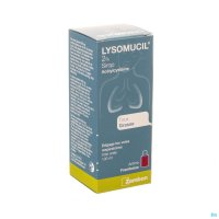 LYSOMUCIL JUNIOR 2% SIROP 100ML
