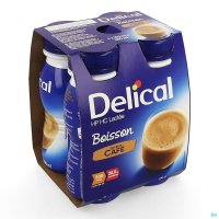 2930261 DELICAL BOISSON LACTEE HP-HC CAFE 4X200ML