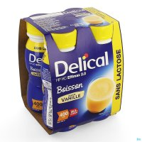 2930360 DELICAL EFFIMAX 2.0 VANILLE 4X200ML