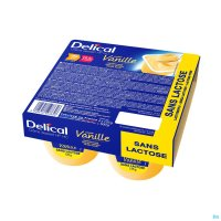 2975605 DELICAL CREME DESSERT HP-HC S/LACT.CAFE 4X125G