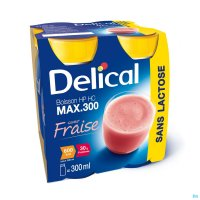 3036456 DELICAL MAX 300 AARDBEI 4X300ML