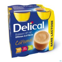 DELICAL EFFIMAX 2.0 CARAMEL 4X200ML