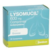 LYSOMUCIL 600 COMP 30 X 600 MG