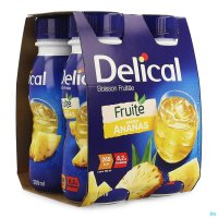 3583986 DELICAL FRUITDRINK ANANAS 4X200ML