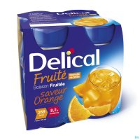 3584034 DELICAL FRUITDRINK SINAASAPPEL 4X200ML