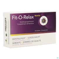 FIT-O-RELAX NUTRITIC COMP 30