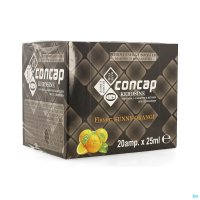CONCAP ENERGY SHOTS KEROSINE AMP 20X25ML